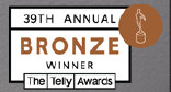 Telly Award Bronze Logo